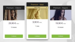 Precios de C-Date Premium
