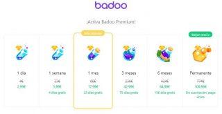 Badoo precio premium