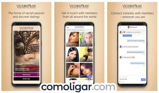 Victoria Milan app opiniones